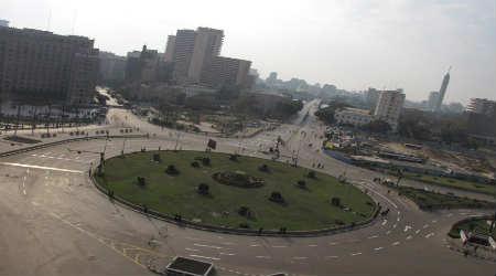 تم البدء في تطوير وتجميل ميدان التحرير ووضع النصب التذكاري لأرواح الشهداء